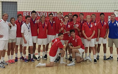 San Marcos Royals Boys Volleyball Team