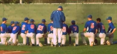 San Marcos JV Baseball Team