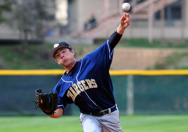 DP's Daniel Buratto pitched a complete game and improved to 4-2 on the season.