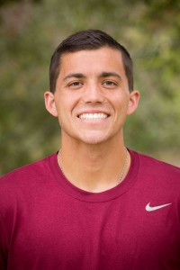 Joshua Barnard is Westmont's first NAIA National Tennis Player of the Week.