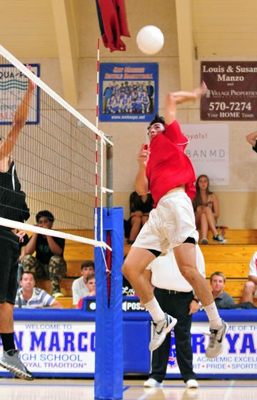 Christian Widmer - San Marcos Volleyball