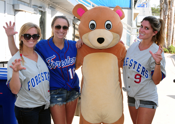 Foresters games are family-friendly events during the summer.