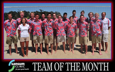 Team of the Month - San Marcos Volleyball
