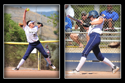 Dos Pueblos' Lani Evans was a serious dual threat for the Chargers in her junior season.