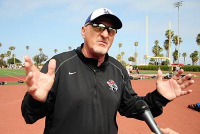 Santa Barbara City College football coach Craig Moropoulos talks about the Vaqueros' upcoming season.