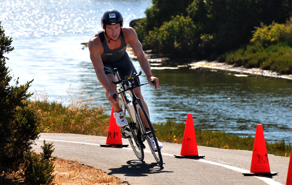 The Goleta Beach Triathlon uses the Obern Bike Trail for portions of its running and biking course.