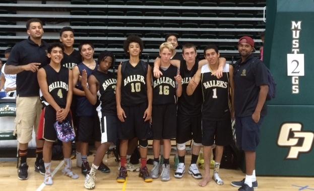 The high school team