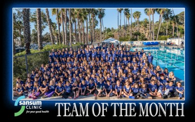 Santa Barbara Swim Club - Team of the Month