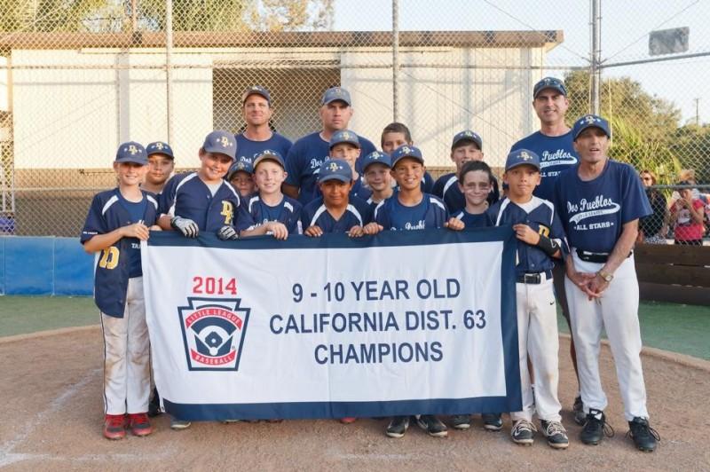 The Dos Pueblos Little League 10-Under All-Stars won the District 63 Tournament title.