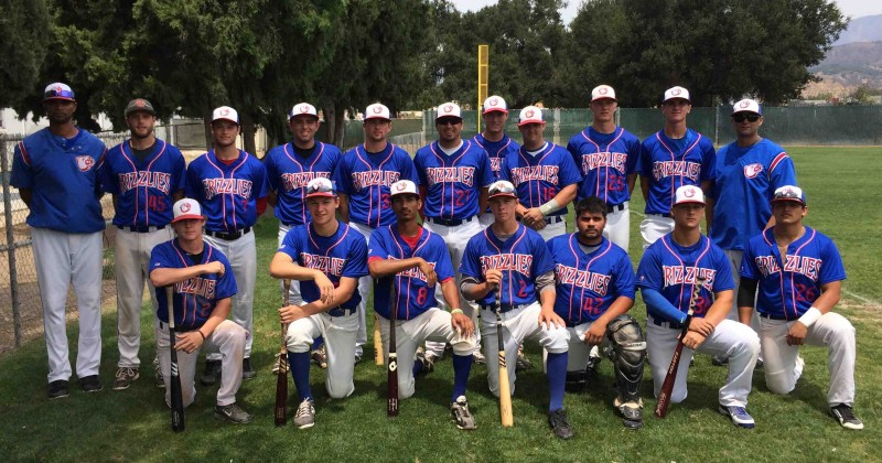 The Santa Barbara Grizzlies collegiate team won a division title.