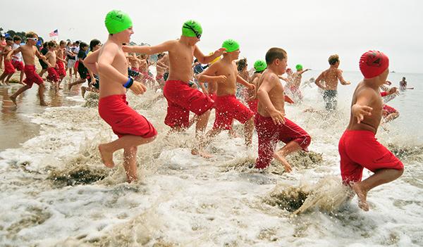 Junior Lifeguards Ocean Swim