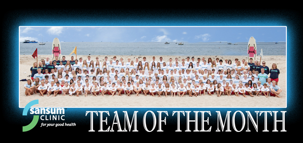 Team of the Month - Junior Lifeguards