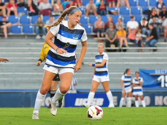 UCSB's Sara Feder scored two of UCSB's six goals on Sunday. (Presidio Sports Photo)