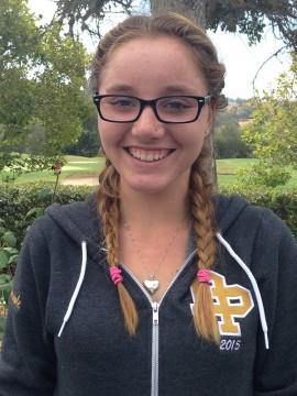 Athlete of the Week Macy Broesamle of Dos Pueblos Golf