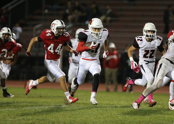 AV Bennett has provided  a spark on special teams for Bishop Diego.