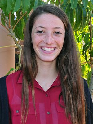 Lucia Johnson, Cate's Scholar-Athlete award winner.