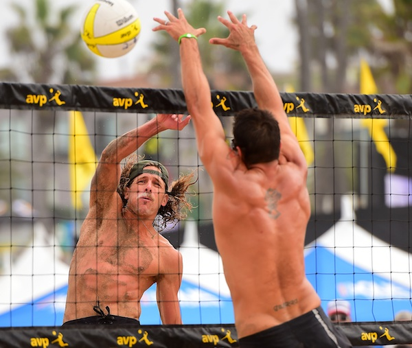 Jeremy Casebeer had a breakout season on the AVP Pro Beach Volleyball Tour.