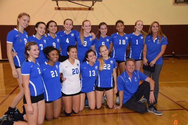 Cate's volleyball team has advanced to the CIF Division 4A semifinals. The Rams will host Summit of Fontana on Tuesday.