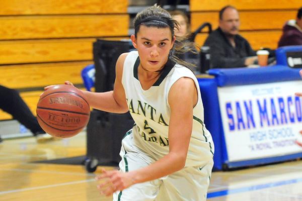 Santa Barbara High's Amber Melgoza led all scorers with 37 points on Thursday.