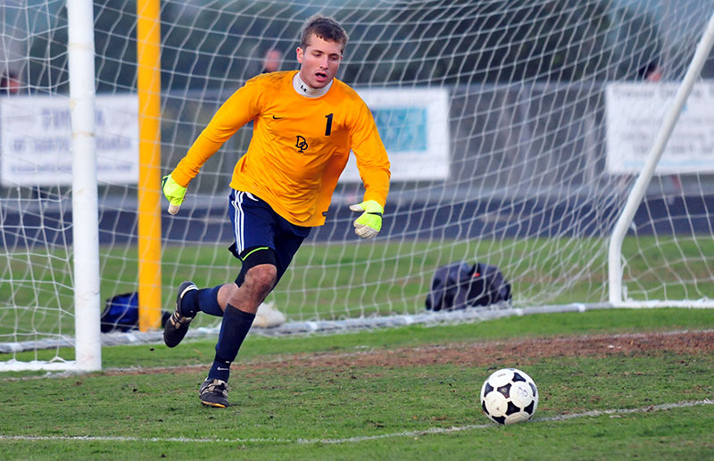 Dos Pueblos goalie Alex Mathews has five shutouts in six Channel League games.