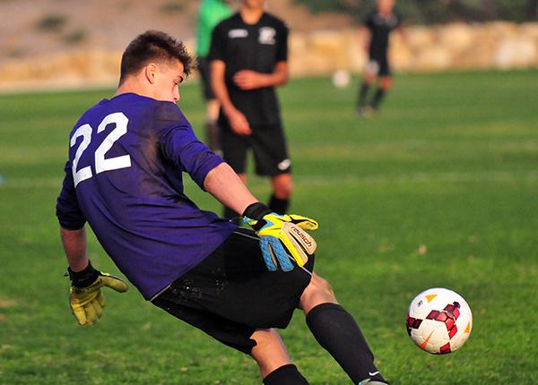 Cate goalkeeper Keller Mochel made 10 saves.