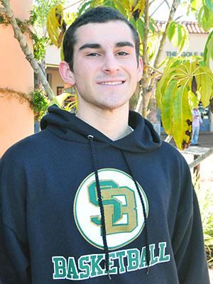 Max Henderson  is a clutch shooter for Santa Barbara High.