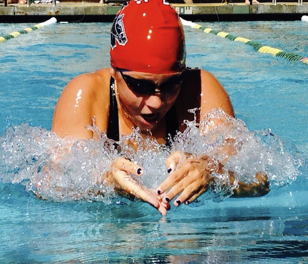 Rachelle Visser started her sophomore season at SBCC on a winning note.