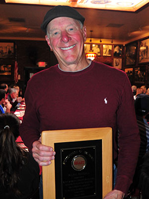 Ralph Randall was honored as the Sportsperson of the Month.