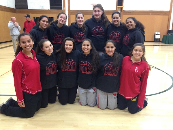 The Bishop Diego girls basketball team will be playing for a CiF championship next Saturday after beating Thacher in the semifinals.