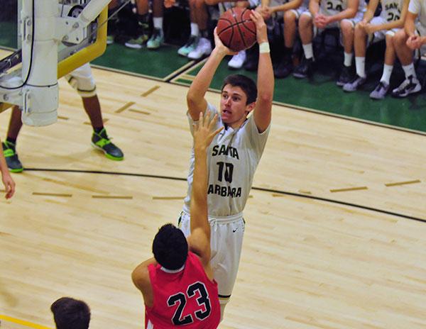 Santa Barbara High's Bolden Brace is league MVP as a junior. (Presidio Sports Photo)