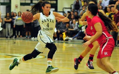 Amber Melgoza - Santa Barbara High Basketball