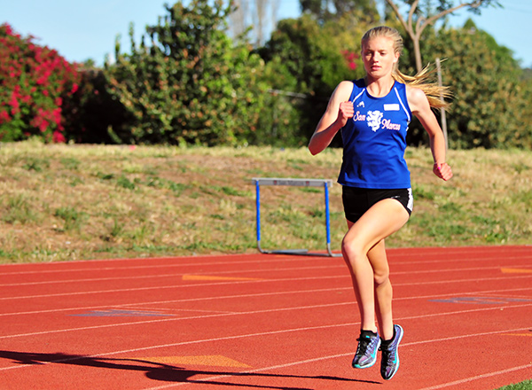 San Marcos' Erica Schroeder. (Presidio Sports File Photo)