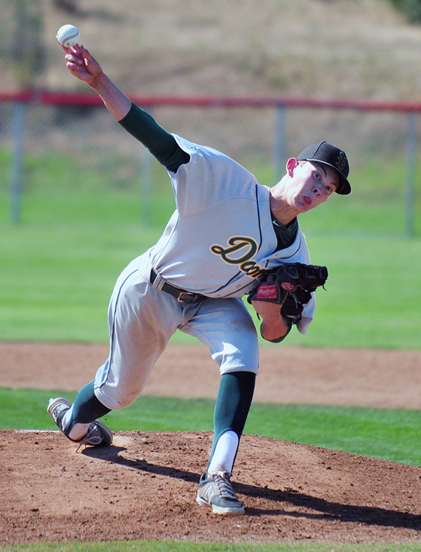 Santa Barbara High's Kevin Gowdy earned the victory on Tuesday and struck out nine.