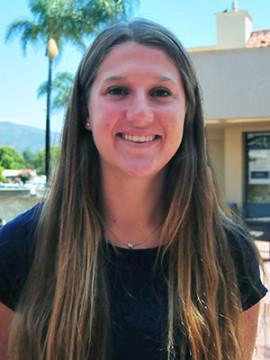 Santa Barbara High track & field standout Natasha Feshbach won three county titles.