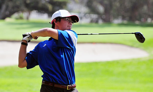 Chris Wong led the Royals on Thursday at the SCGA Qualifier. (Presidio File Photo)