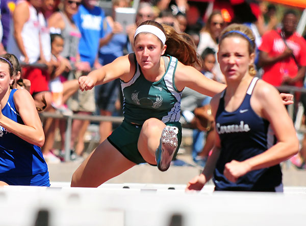 Santa Barbara junior Natasha Feshbach qualified for the CIF Division 2 Finals in three events.
