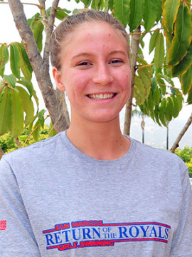 Olivia Smith, San Marcos swimming.