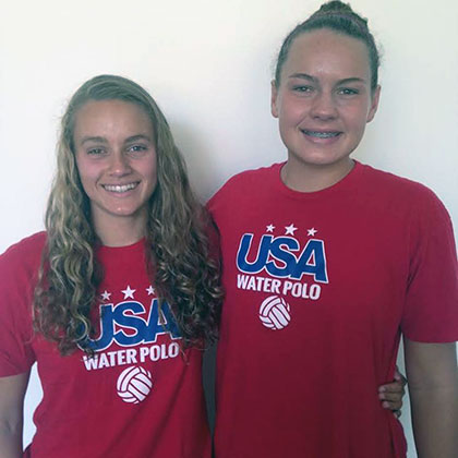 Abbi Hill and Jewel Roemer.