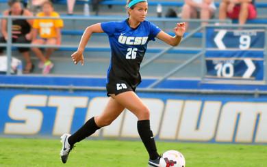 Jessica Clegg - UCSB Soccer