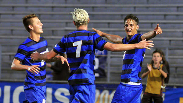 UCSB clinched the Big West North title outright on Saturday in Davis. (Presidio Sports File Photo)