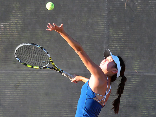 Dos Pueblos' Katie Yang is one of four players to make the Channel League semifinals. (John Dvorak/Presidio Sports File Photo)