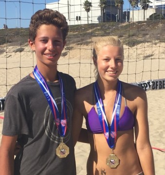 Rottman and Keara Rutz captured their division at the AAU Mixed Nationals.
