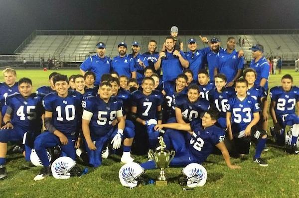 The Santa Barbara Condors captured the youth football Senior Division City Championship last Saturday with a 50-20 win over the Santa Barbara Sharks.