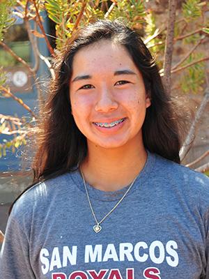Yuka Perera, San Marcos tennis