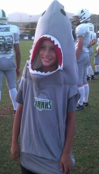 Santa Barbara Sharks mascot.