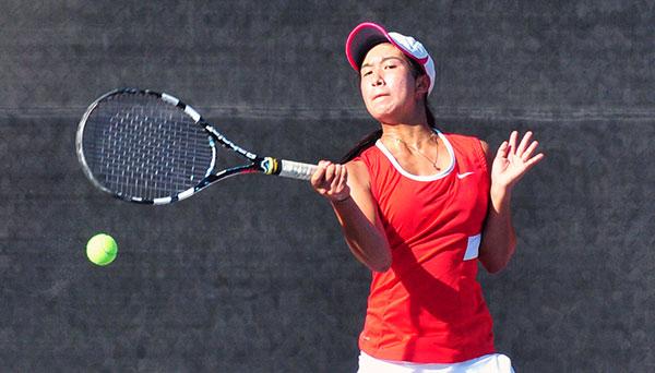 San Marcos freshman Yuka Perera won the 2015 Channel League singles championship.