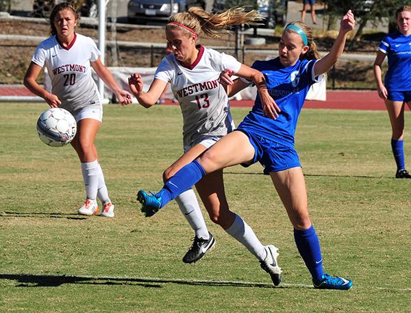 Westmont vs Embry Riddle Soccer
