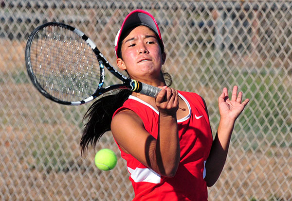 Channel League singles champion Yuka Perera leads San Marcos into the CIF playoffs.