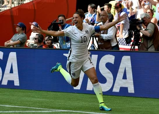 Carli Lloyd is coming to the Arlington Theatre.
