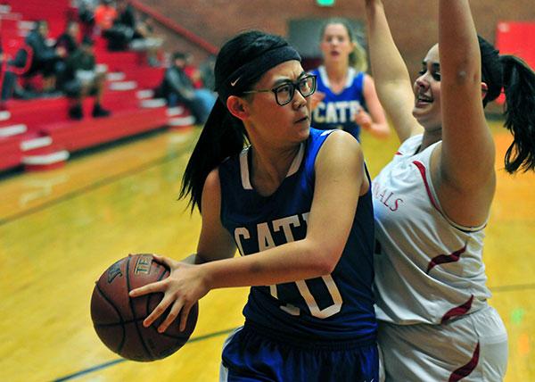 Cate vs. Bishop Diego Girls Basketball